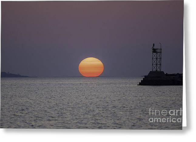 Renewing Greeting Cards - Touchdown Greeting Card by Joe Geraci