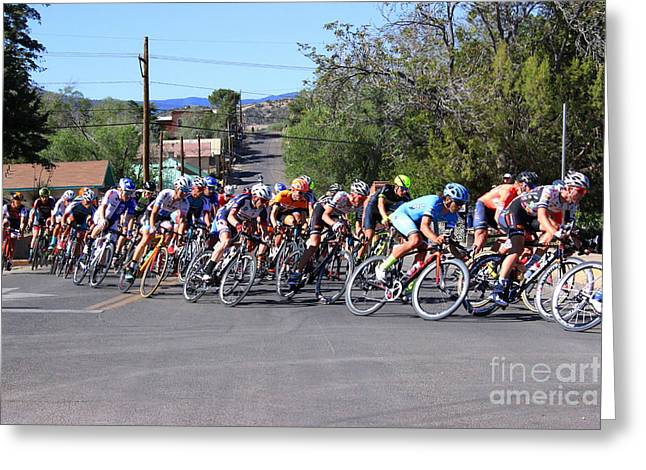 Tour Of The Gila 1 Greeting Card by Natalie Ortiz