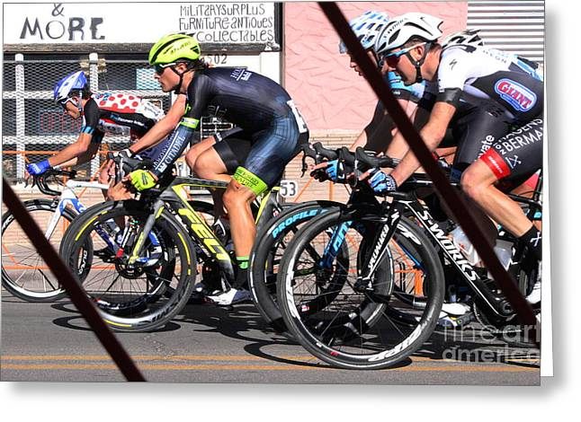 Tour Of The Gila 2 Greeting Card by Natalie Ortiz