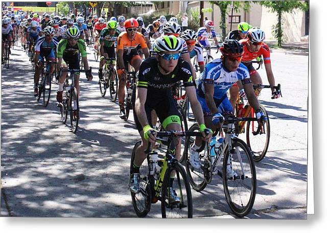 Tour Of The Gila 3 Greeting Card by Natalie Ortiz