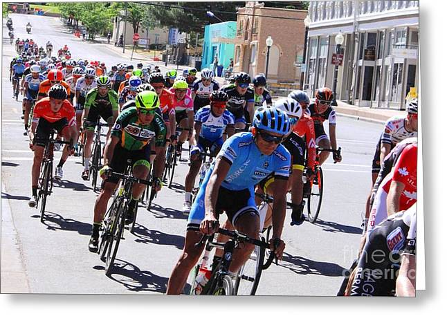 Tour Of The Gila 4 Greeting Card by Natalie Ortiz