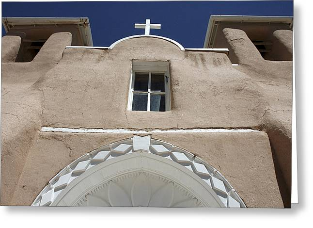 Taos Greeting Cards - Toward Heaven Greeting Card by Jerry McElroy