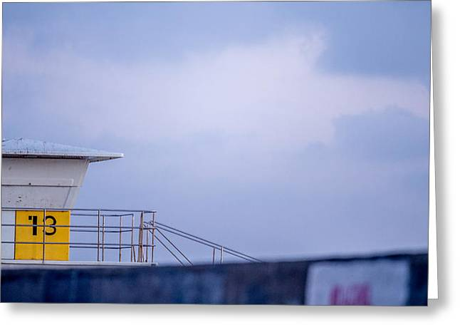 Tower 13 Greeting Card by Peter Tellone