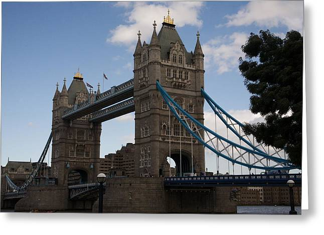 Famous Bridge Greeting Cards - Tower bridge London Greeting Card by Christopher Rowlands