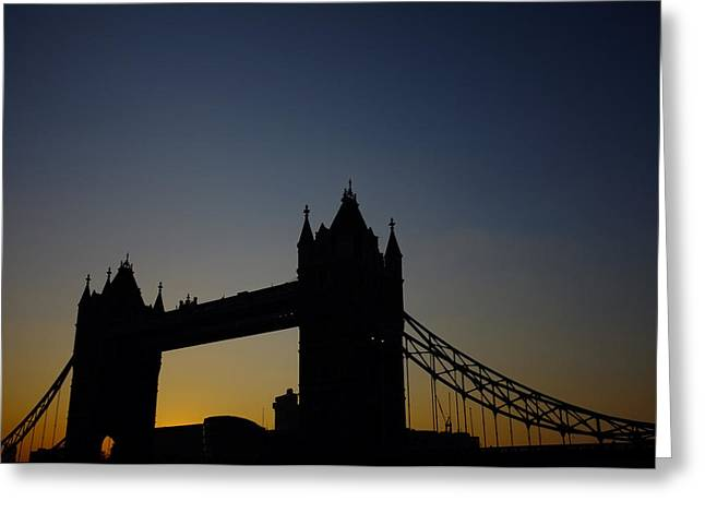 Matt Greeting Cards - Tower Bridge Greeting Card by Matt J