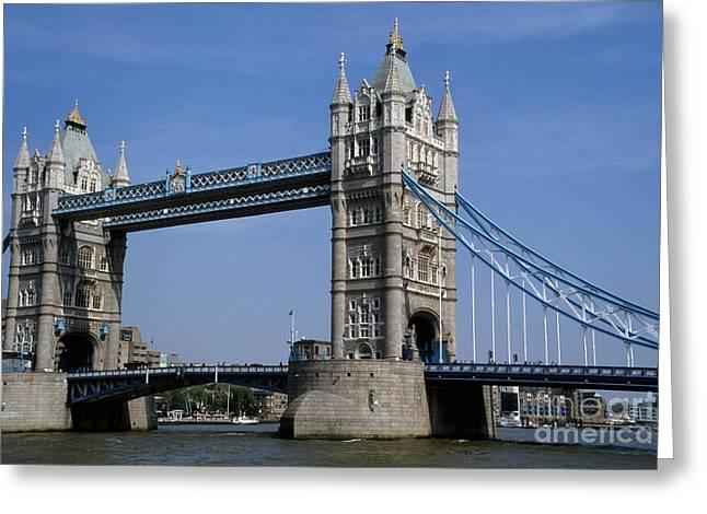 National Treasure Greeting Cards - Tower Bridge Greeting Card by Robert  Torkomian
