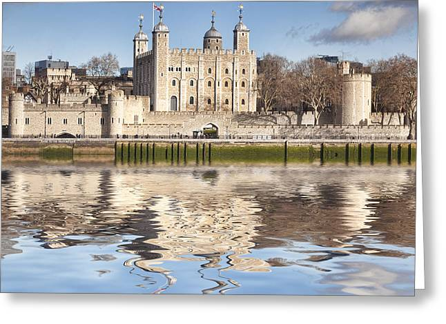 Tower Of London Greeting Card by Colin and Linda McKie