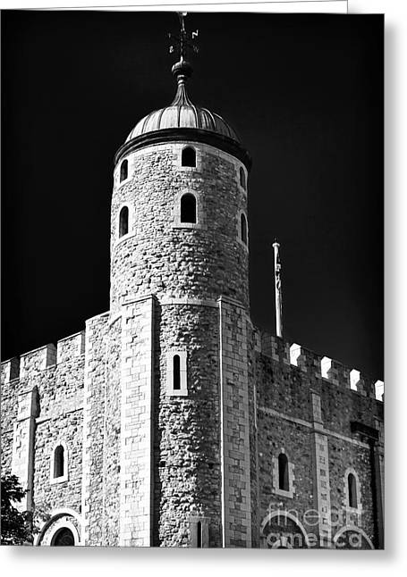 Photo Art Gallery Greeting Cards - Tower Windows Greeting Card by John Rizzuto