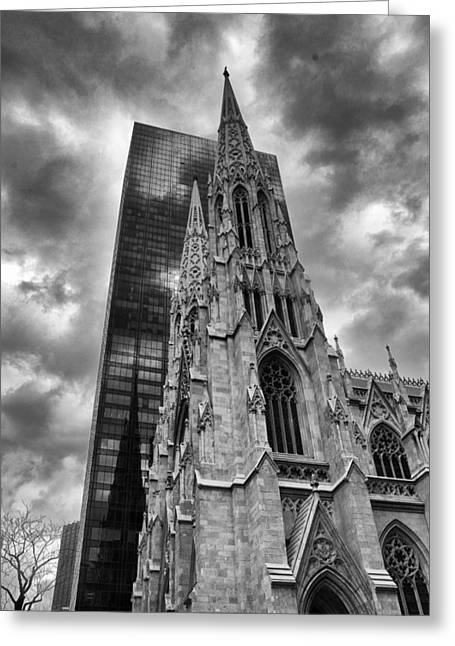 Towering Greeting Card by Jessica Jenney