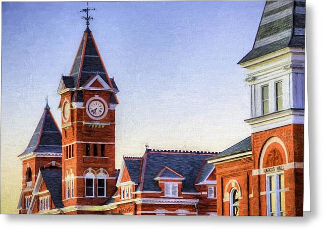 Towering Over Auburn Greeting Card by JC Findley