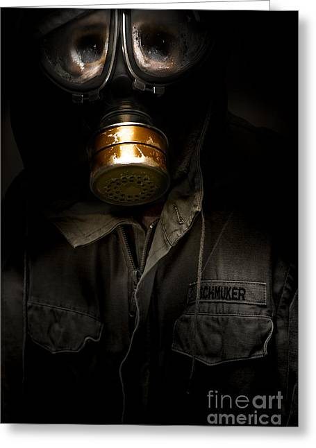 Toxic Decay Greeting Card by Jorgo Photography - Wall Art Gallery