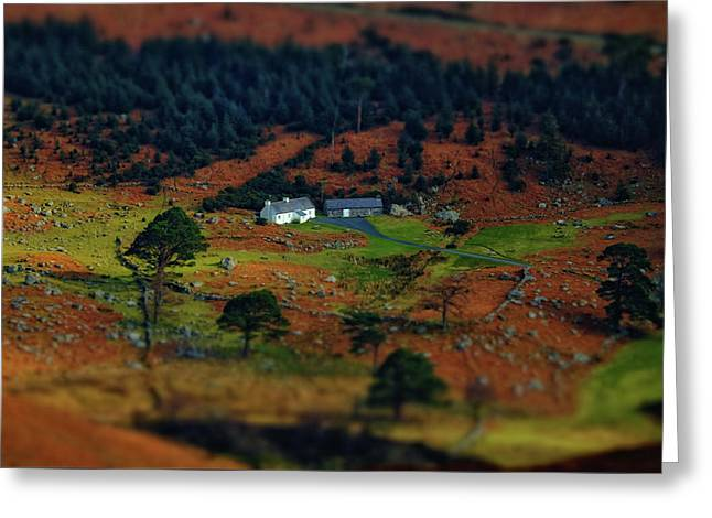 ...toy Cottage... Greeting Card by Kanstantsin Markevich