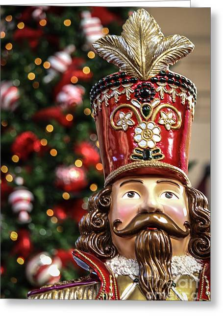 Rudolph Greeting Cards - Toy Soldier Greeting Card by Lynn Sprowl