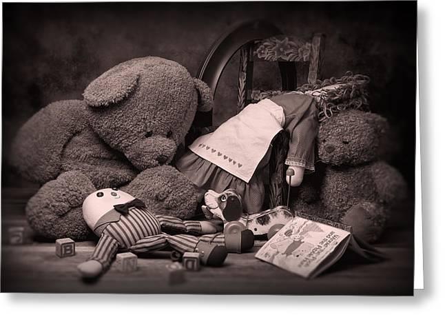 Toys Greeting Card by Tom Mc Nemar