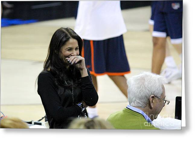 Tracy Hall Greeting Cards - Tracy Wolfson Bill Raftery ii Greeting Card by Robert Yaeger