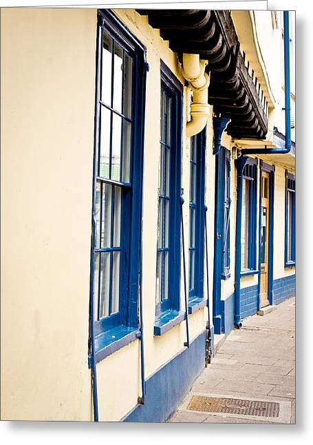 Quintessential Greeting Cards - Traditional architecture Greeting Card by Tom Gowanlock