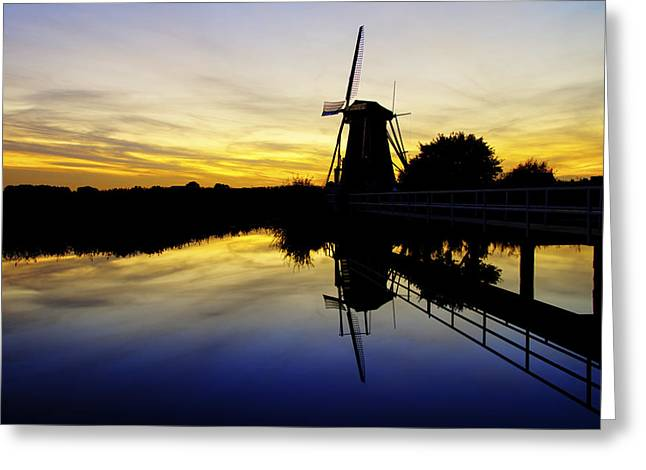 Holland Greeting Cards - Traditional Dutch Greeting Card by Chad Dutson