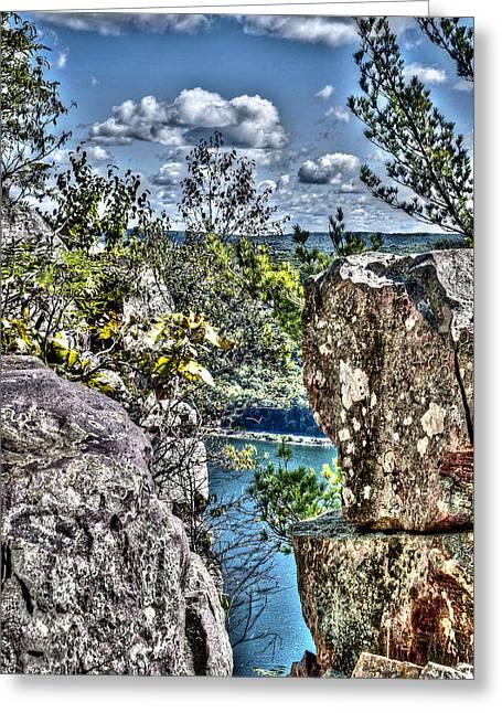 Woodland Scenes Greeting Cards - Trail Blazer Greeting Card by Deborah Klubertanz