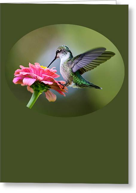 Tranquil Joy Greeting Card by Christina Rollo