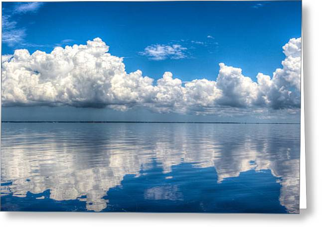 Reflecting Water Greeting Cards - Tranquil Reflections Greeting Card by Ronald Kotinsky