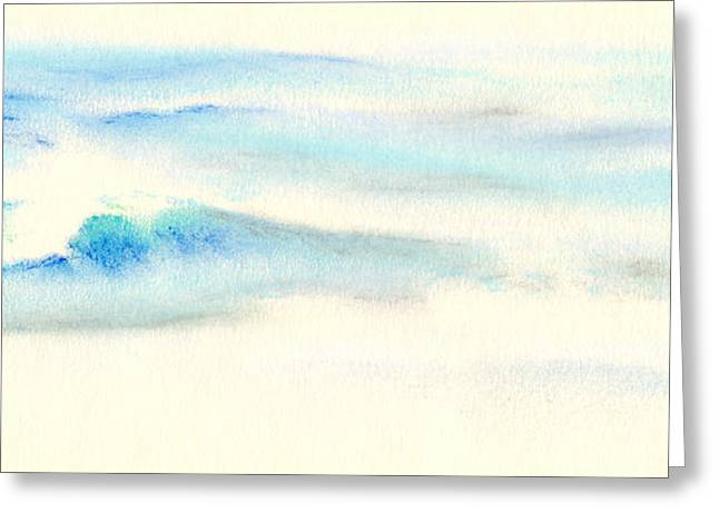 Ocean Vista Pastels Greeting Cards - Tranquil Sea Greeting Card by Scott Kirkman