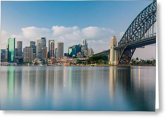 Tranquil Sydney Mornings Greeting Card by Az Jackson