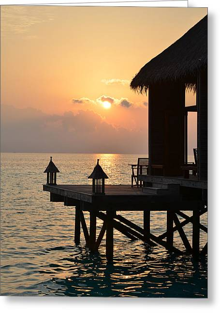 Corinne Rhode Greeting Cards - Tranquility Greeting Card by Corinne Rhode