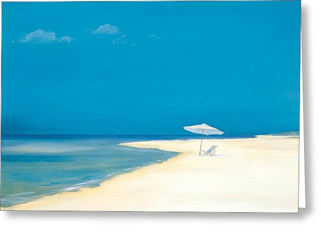 Beachscape Greeting Cards - Tranquility Greeting Card by Paul Brent