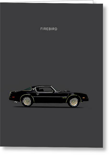 Trans Am Firebird Greeting Card by Mark Rogan