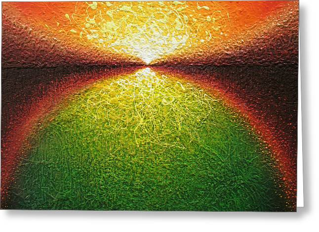 Transfiguration Greeting Card by Jaison Cianelli