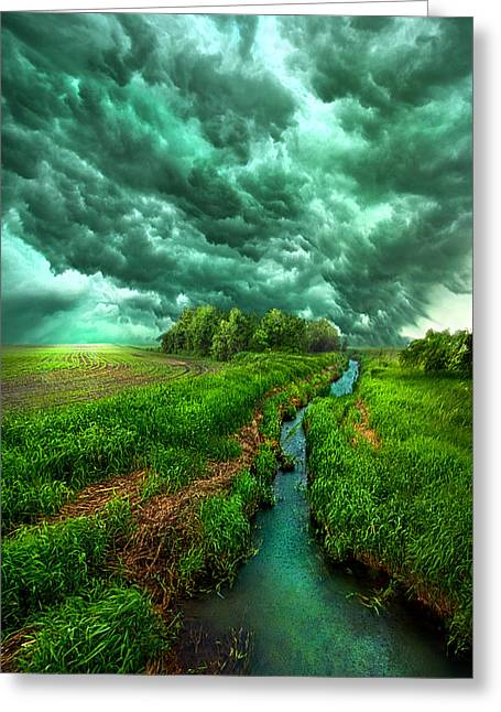 Summer Storm Photographs Greeting Cards - Transformation Greeting Card by Phil Koch