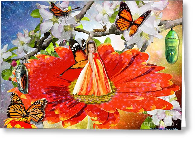Born Again Greeting Cards - Transformed by Love  Greeting Card by Dolores Develde