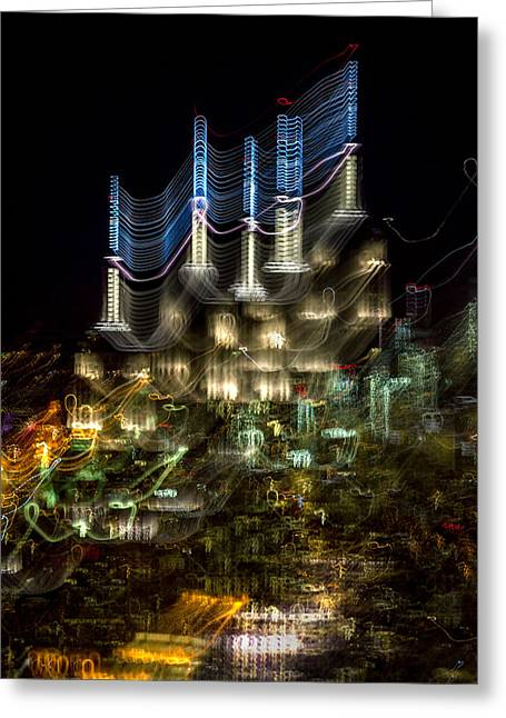 Electricity Greeting Cards - Transformer Greeting Card by Az Jackson