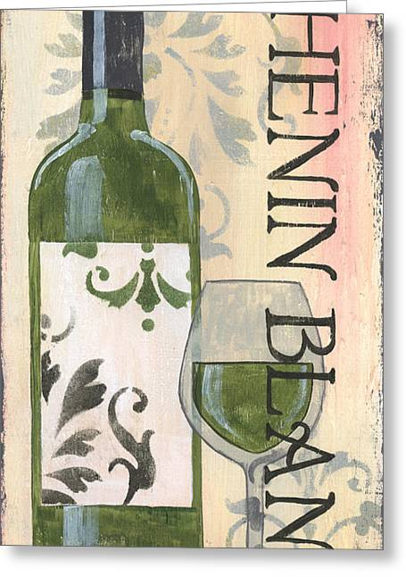 Pinot Noir Greeting Cards - Transitional Wine Chenin Blanc Greeting Card by Debbie DeWitt