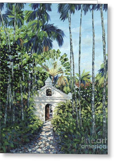 Travelers Path Greeting Card by Danielle  Perry