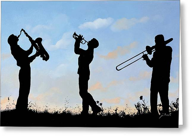 Fa Greeting Cards - Tre Greeting Card by Guido Borelli