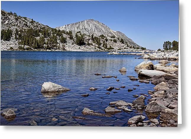 Fishing Creek Greeting Cards - Treasure Lakes 2 Greeting Card by Kelley King