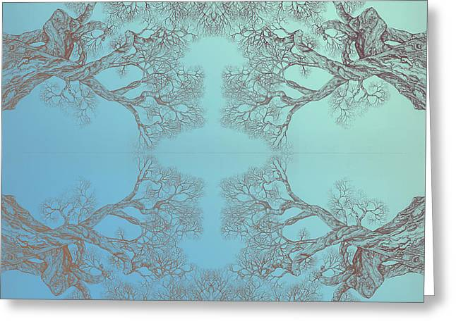 Pen And Ink Framed Prints Greeting Cards - Tree 20 Hybrid 3 Greeting Card by Brian  Kirchner