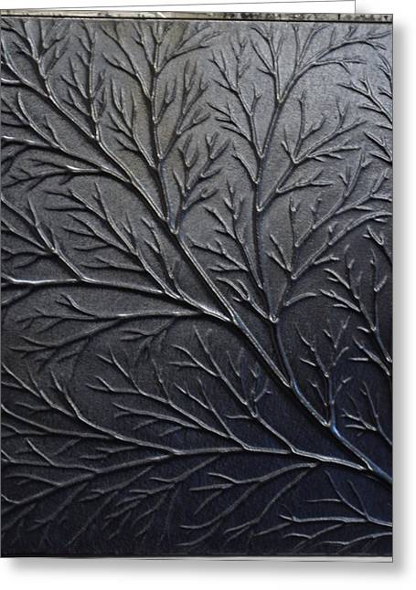 Branch Glass Greeting Cards - Tree branch Greeting Card by Rosalind Duffy