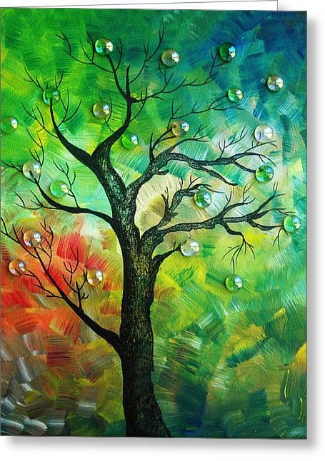 Tree Fantasy Greeting Card by Ramneek Narang