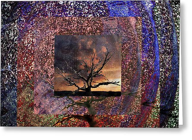 Tree Layers 4 Greeting Card by Dorothy Berry-Lound