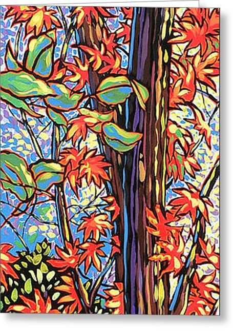Best Sellers -  - Nadi Spencer Greeting Cards - Tree Long Greeting Card by Nadi Spencer