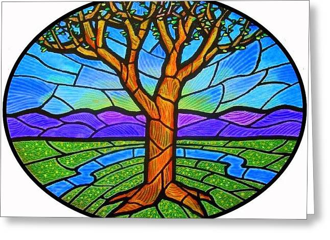 Tree Of Grace - Spring Greeting Card by Jim Harris