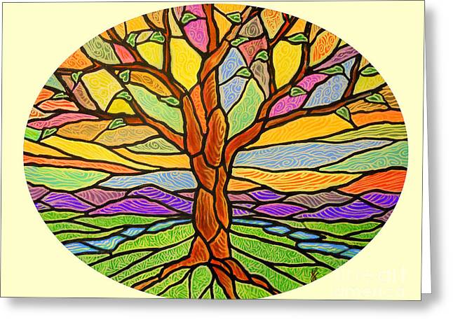 Tree Of Grace 2 Greeting Card by Jim Harris