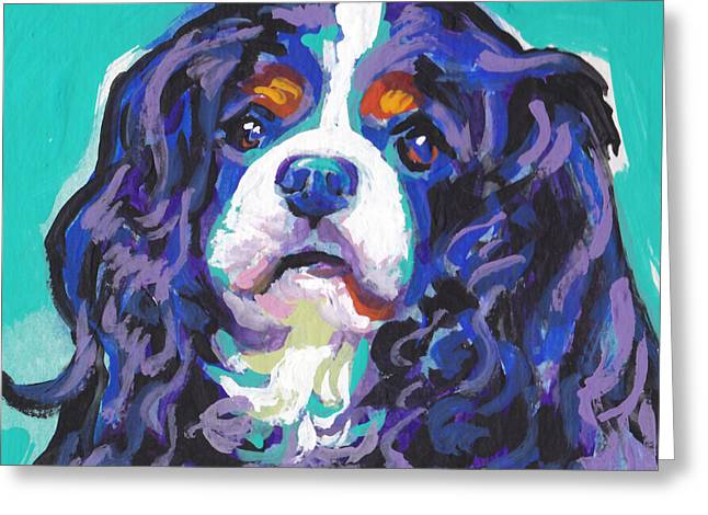 Spaniel Greeting Cards - Tri a little tenderness Greeting Card by Lea