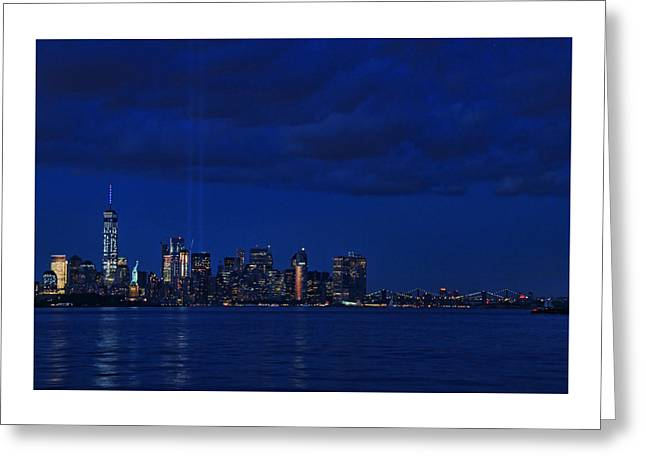 Illuminate Greeting Cards - Tribute in Light 5 Greeting Card by Allen Beatty