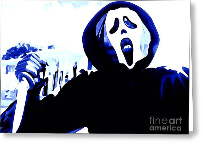 Abstract Digital Photographs Greeting Cards - Trick Or Treat Greeting Card by Ed Weidman