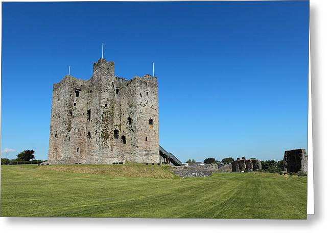 Castle Gates Greeting Cards - Trim Castle Greeting Card by Joe Burns