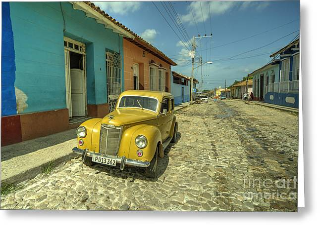 Deuce Coupe Greeting Cards - Trinidad Prefect  Greeting Card by Rob Hawkins