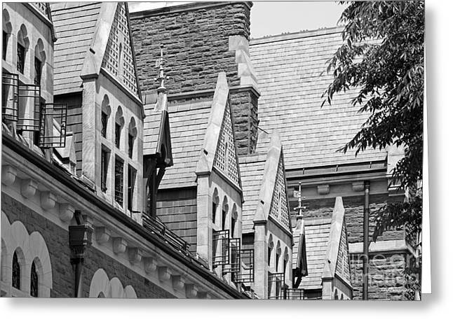Occasion Greeting Cards - Trinity College Gables Greeting Card by University Icons